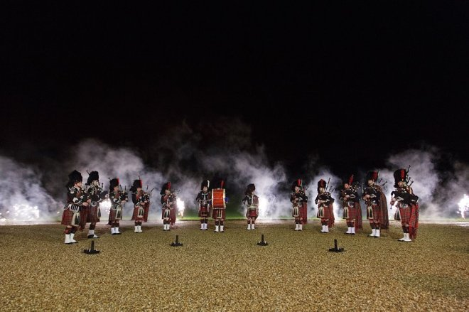 Pipe Band Smoke