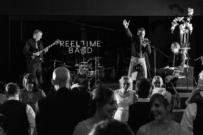 Reel Time Band B&W