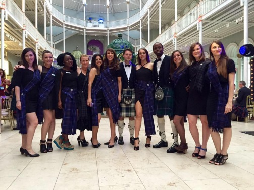 guests-with-kilts-and-sashes-ready-to-ceilidh-dance
