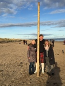 Andreas with Highland Games heavy in St Andrews